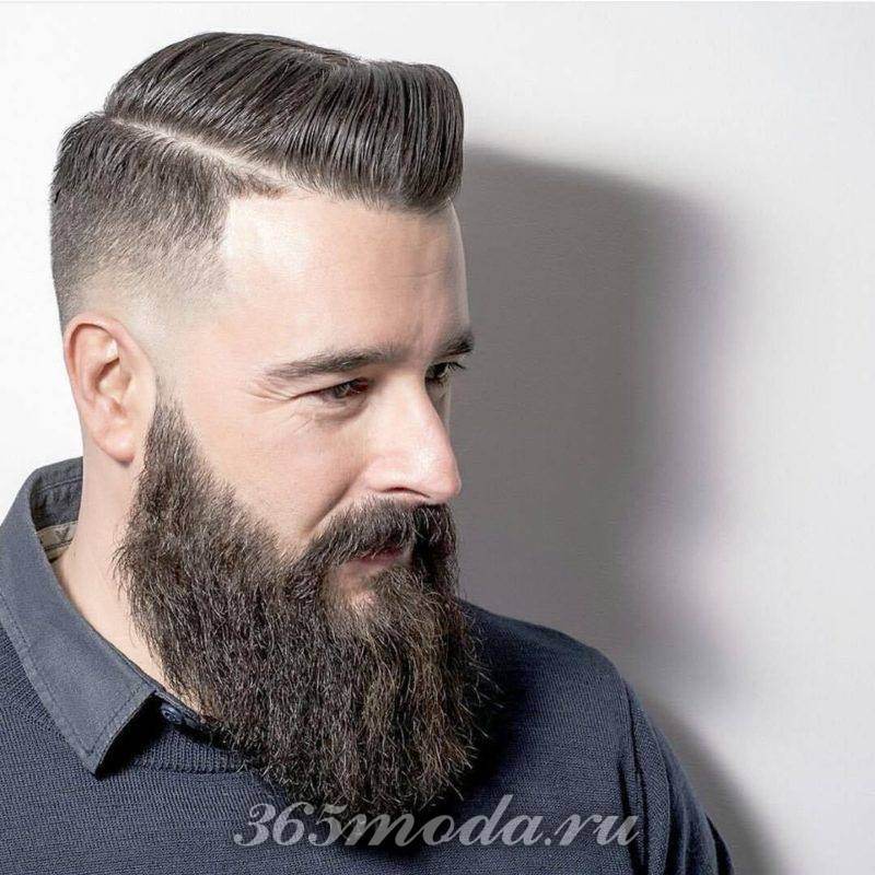 Модная полная мужская борода 2018