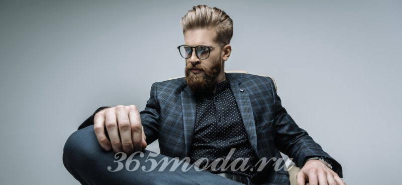 Модная мужская голливудская борода 2018