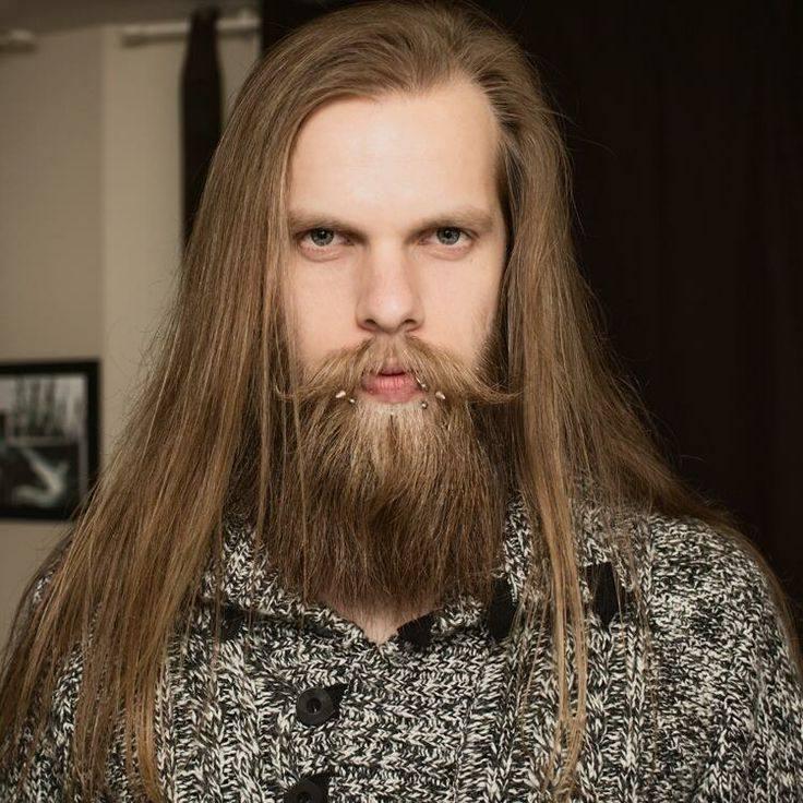 Модная мужская борода для светлых 2018