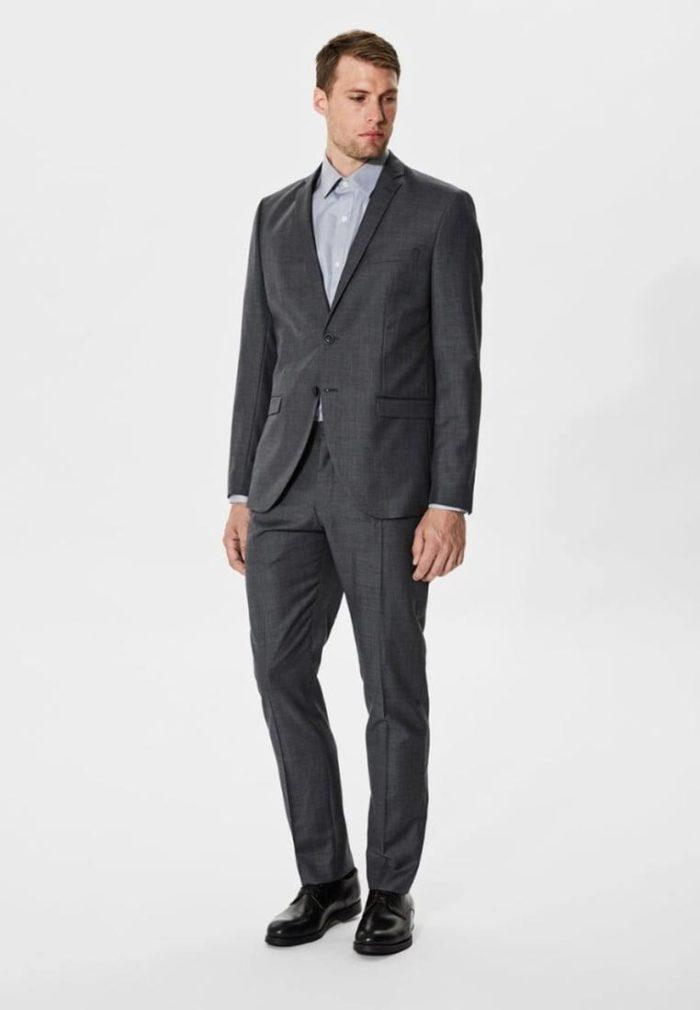 Модные мужские серые костюмы весна-лето 2019
