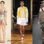 Модные юбки весна-лето 2018 тенденции фото новинки сезона