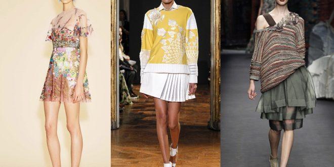 Модные юбки весна-лето 2021: тенденции фото новинки сезона