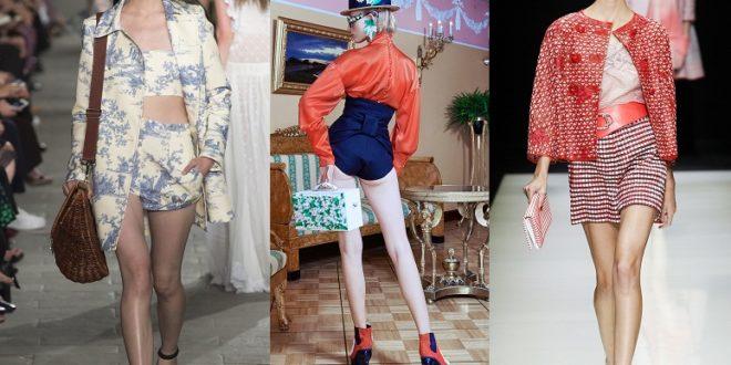 Модные шорты весна-лето 2019 новинки