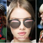 Модные солнцезащитные очки весна-лето 2018 новинки