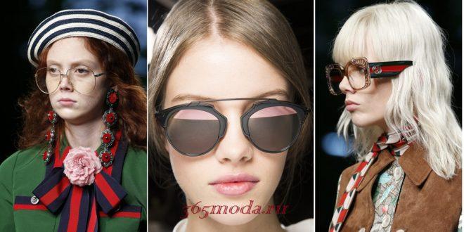 Модные солнцезащитные очки весна-лето 2019: новинки