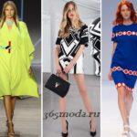 Модные повседневные платья весна-лето 2018 тренды