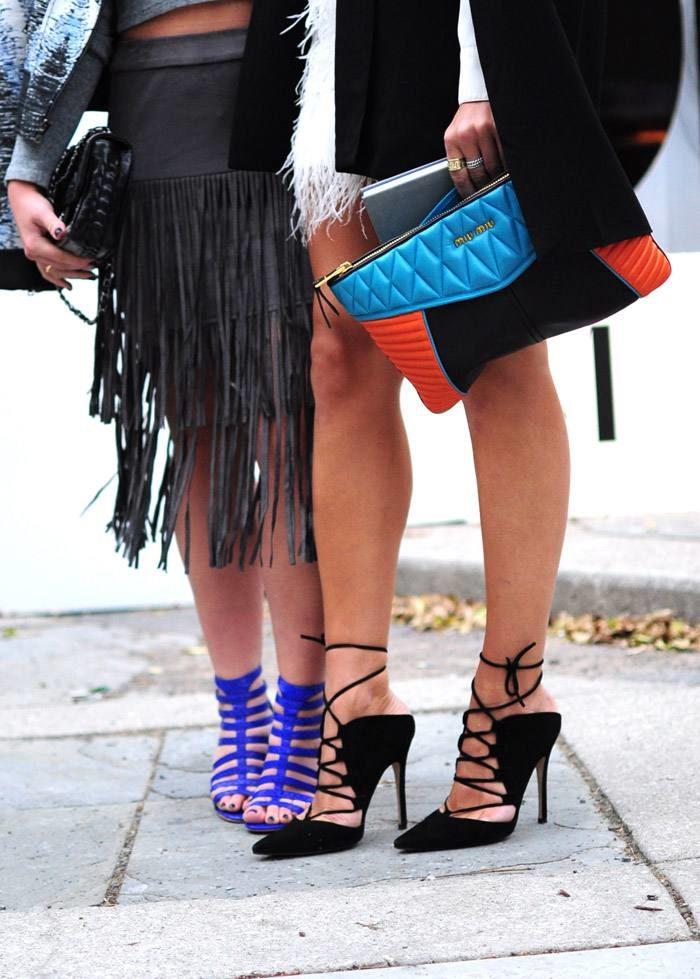 Модная обувь в уличной моде весна-лето 2019