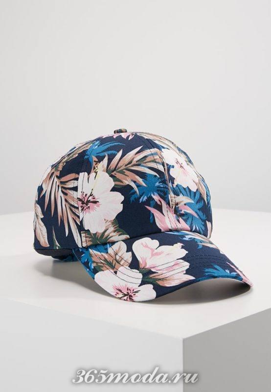 Модная кепка весна-лето 2018