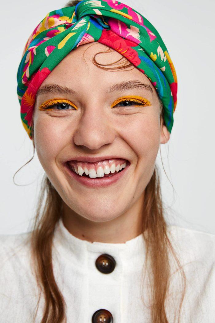 Модная ретро повязка весна-лето 2019