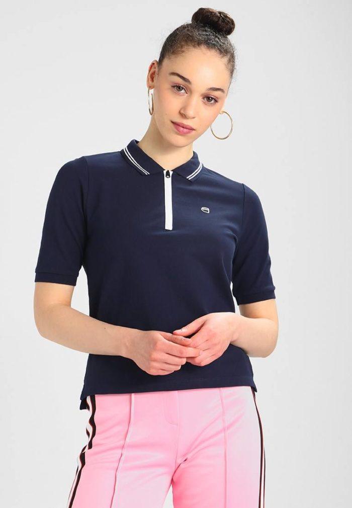 Синяя футболка весна-лето 2020