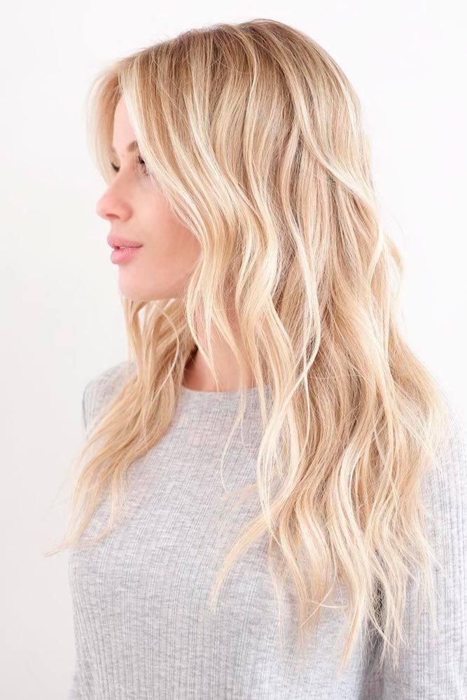 Распущенные волосы прически весна-лето 2020