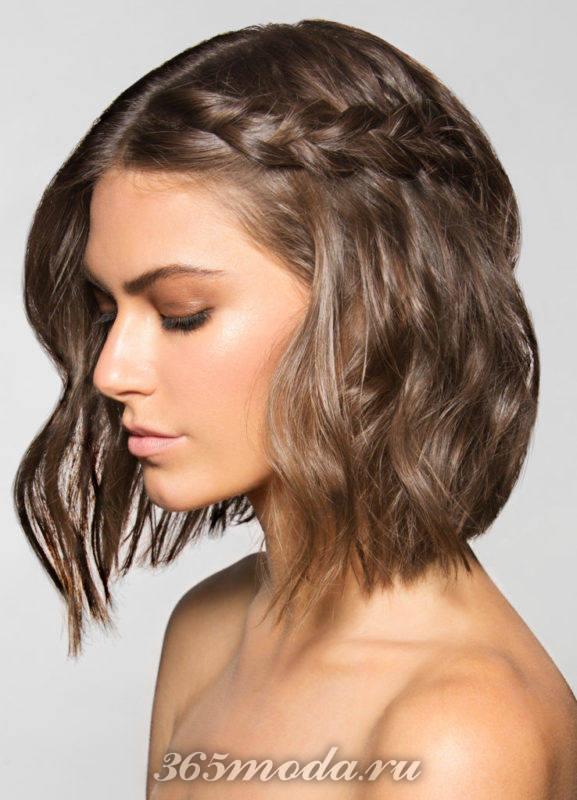 Волнистые волосы прически 2018