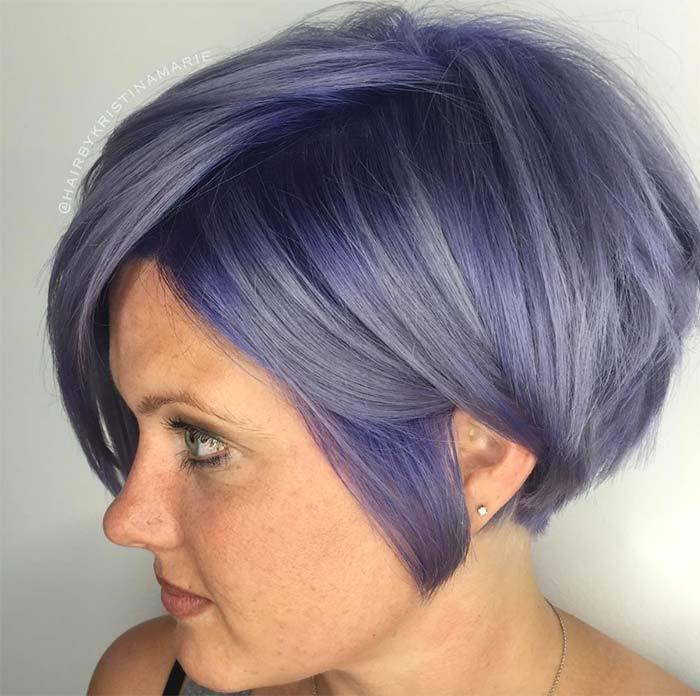 Актуальные цвета волос