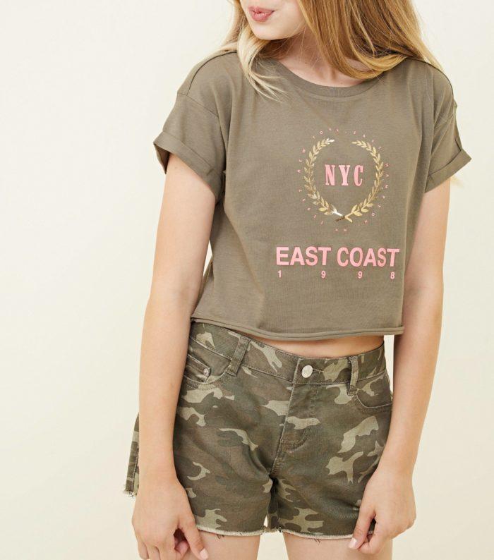 Модные военные шорты весна-лето