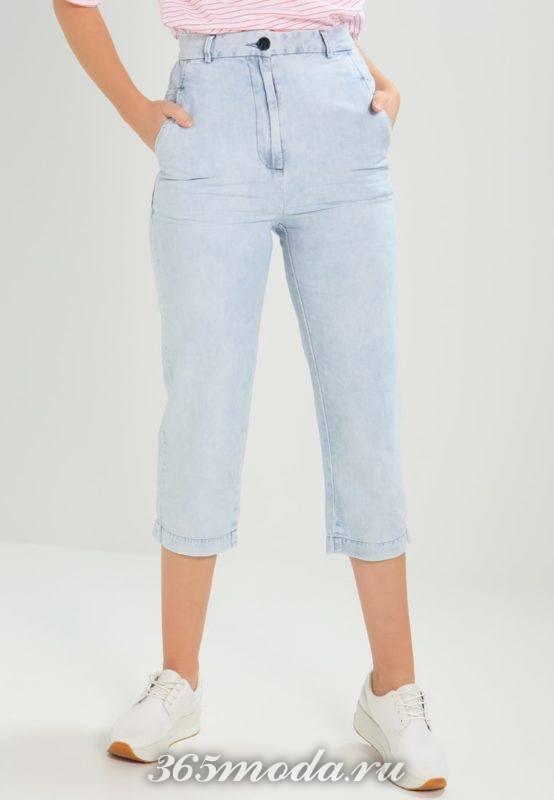 Модные джинсовые шорты весна-лето 2019