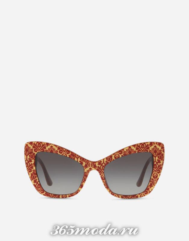 d4107643ecd1 Жми! Модные солнцезащитные очки весна-лето 2018 новинки 32 фото