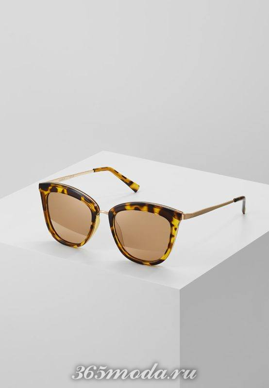 Модные авангардные солнцезащитные очки кошачий глаз весна-лето 2018