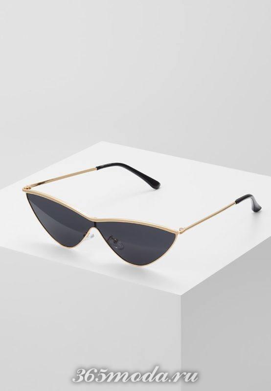 Модные авангардные солнцезащитные очки 2018