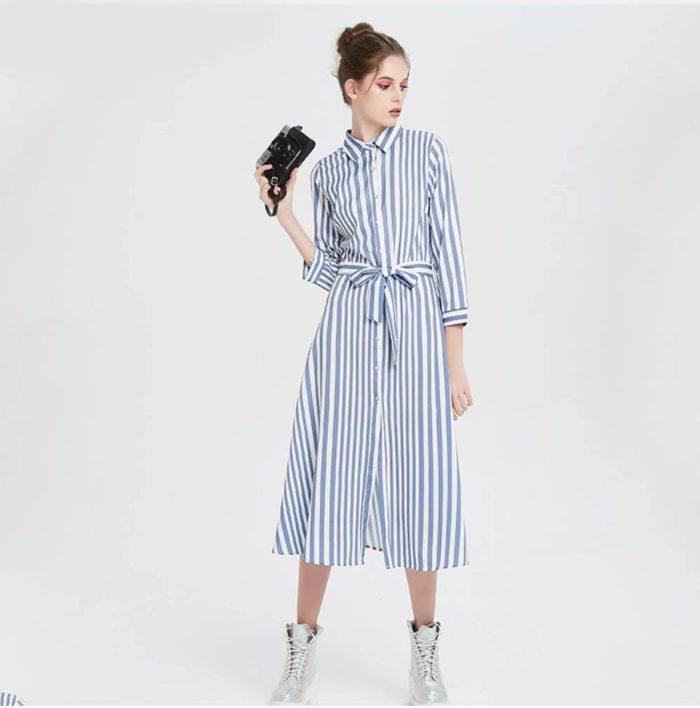 Модные тренды весна-лето 2019 - безумная полоска