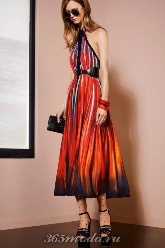 Модные тенденции весна-лето 2018 - креативные складки