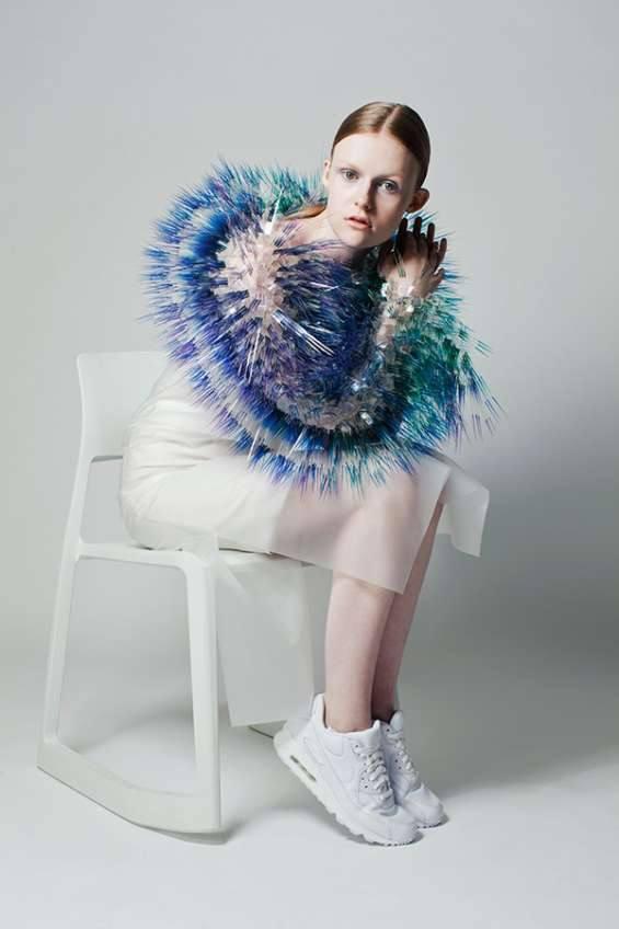 Модные тенденции весна-лето 2019 - графический мех
