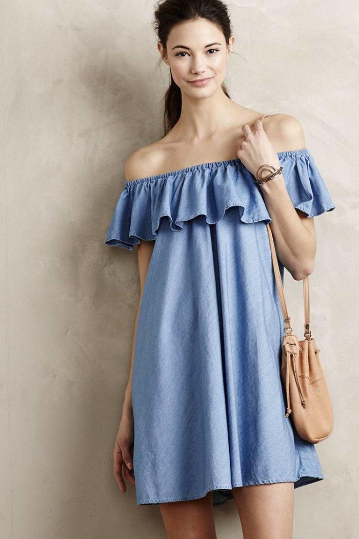 Модные тенденции весна-лето 2019 – воланы