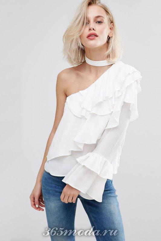 Модные тенденции весна-лето 2018 – воланы