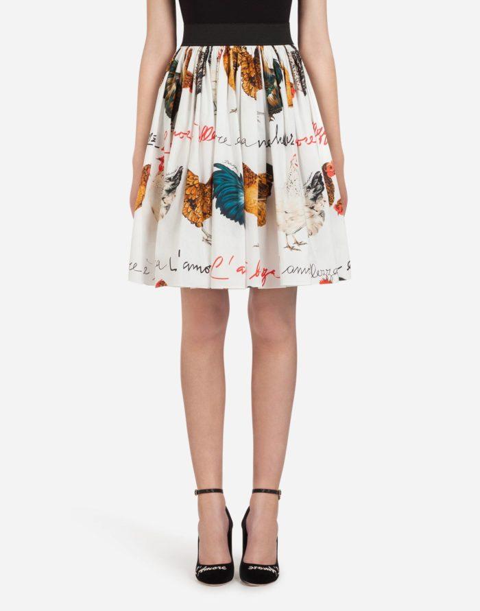 Модные юбки весна-лето 2019