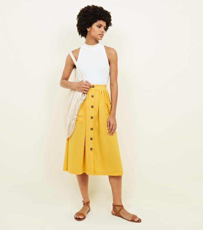 Модная юбка весна лето 2019
