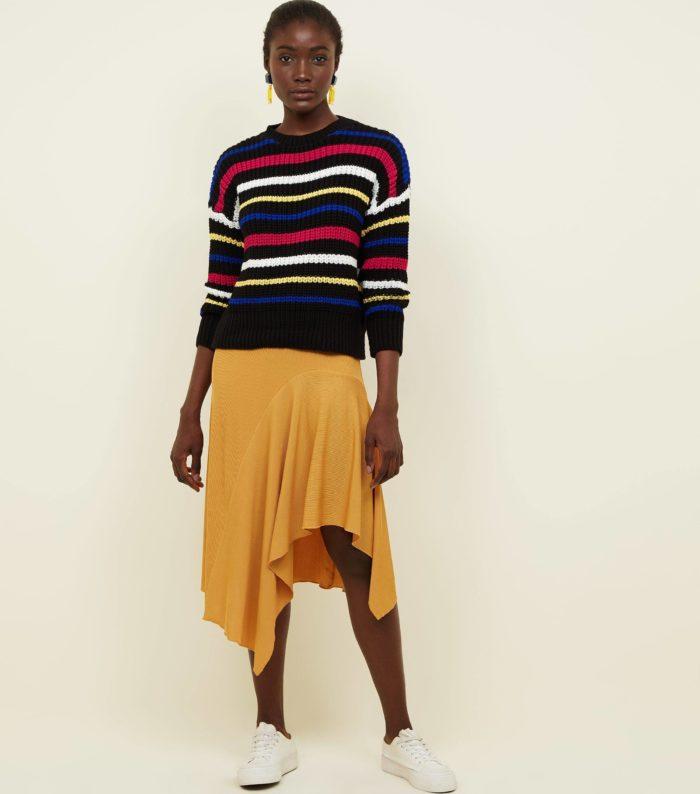 Модные миди юбки весна-лето 2019