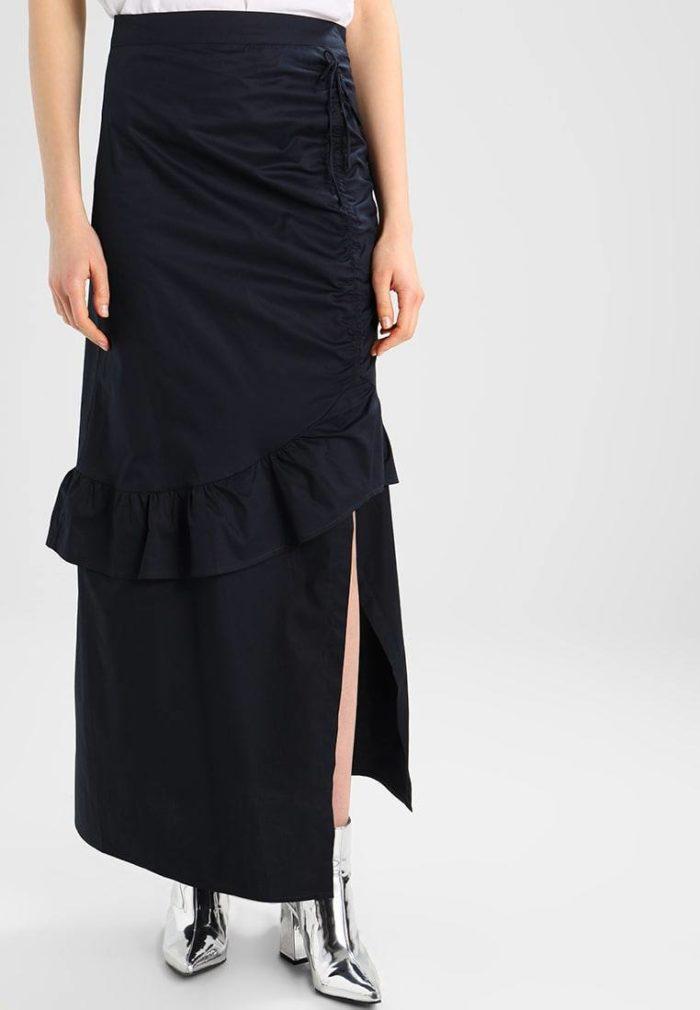 Модные макси юбки весна-лето 2019