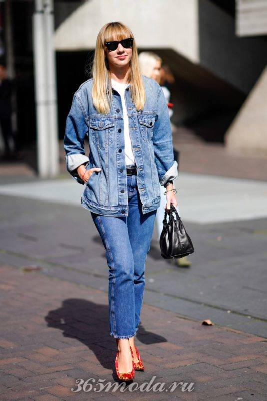 Модные женские джинсы весна-лето 2018