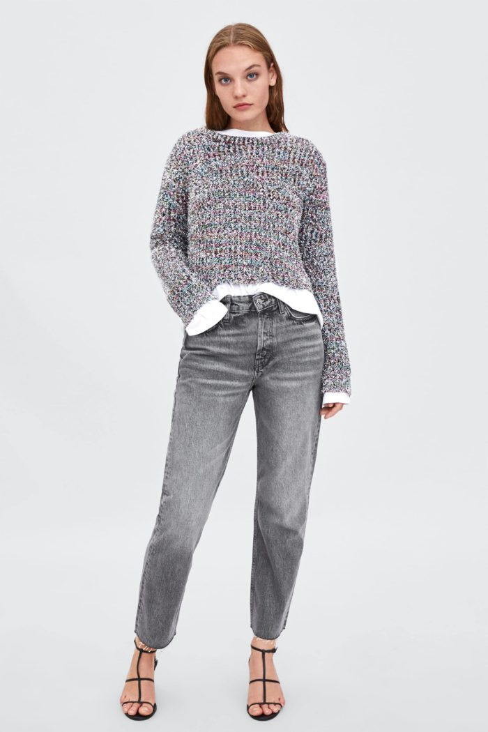 Модные женские классические джинсы весна-лето 2019