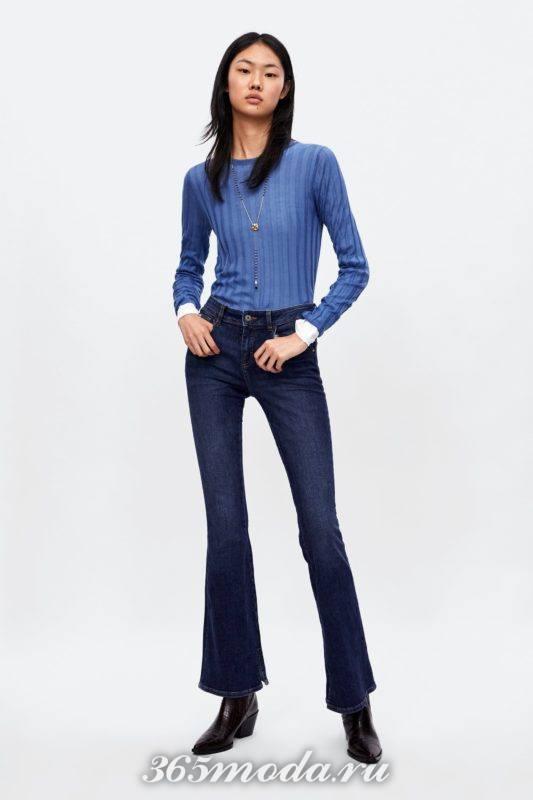 Модные женские классические джинсы весна-лето 2018