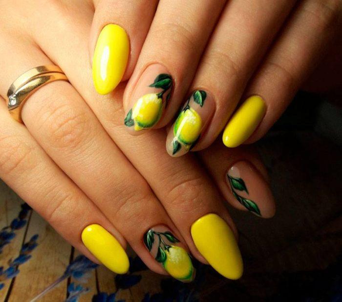 рисунки на ногтях весна-лето