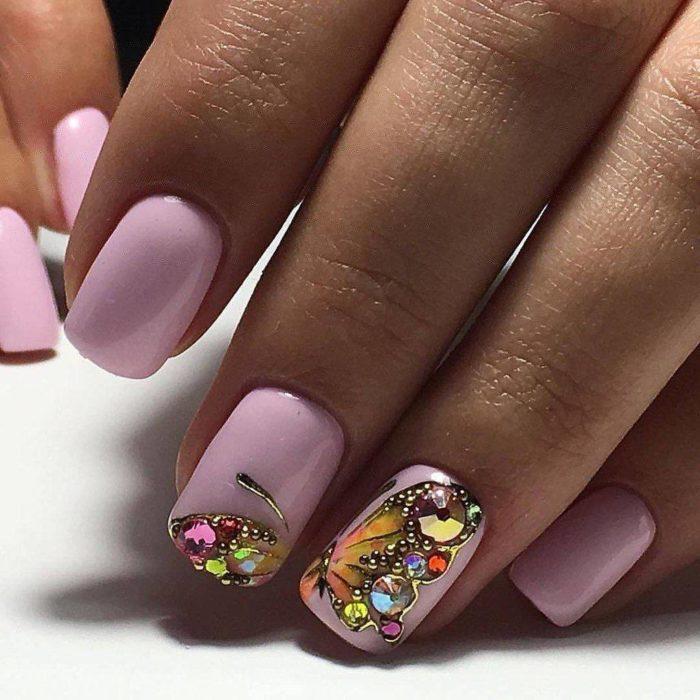дизайн ногтей на свадьбу: Формы ногтей