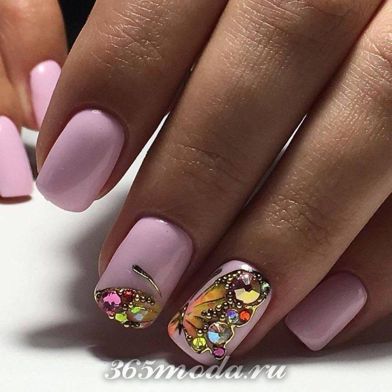 Формы ногтей в 2018 году