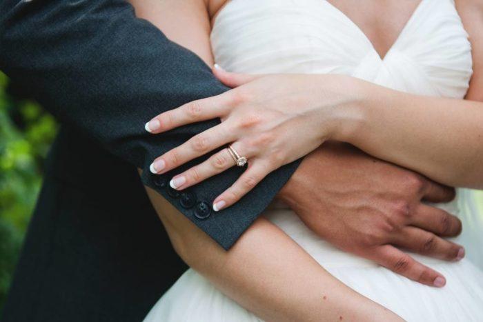 свадебный маникюр 2019 2020: Французский