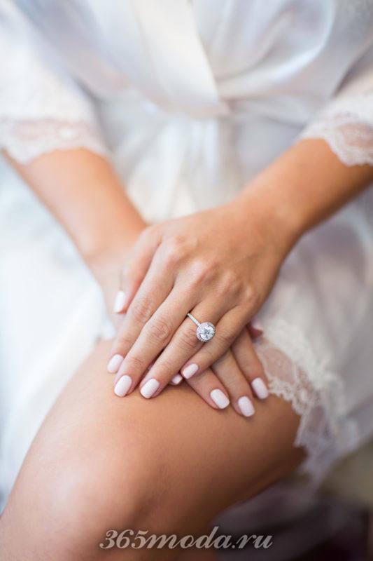 Модный свадебный маникюр 2018