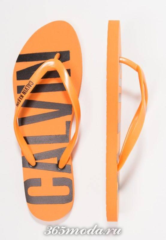 Модная пляжная обувь лето 2018