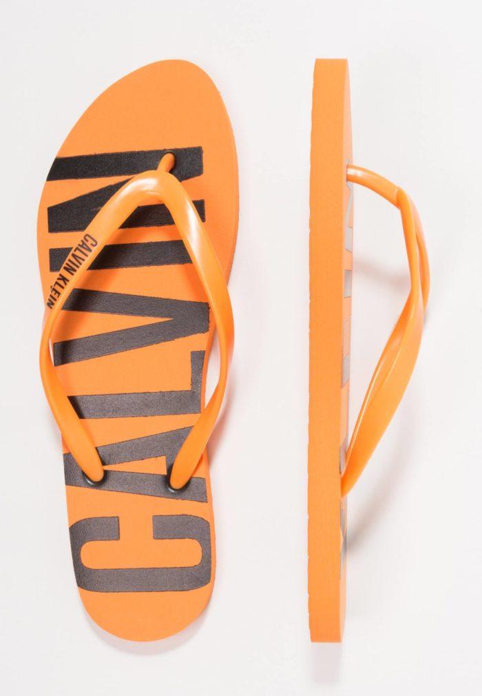 оранжевые сандали