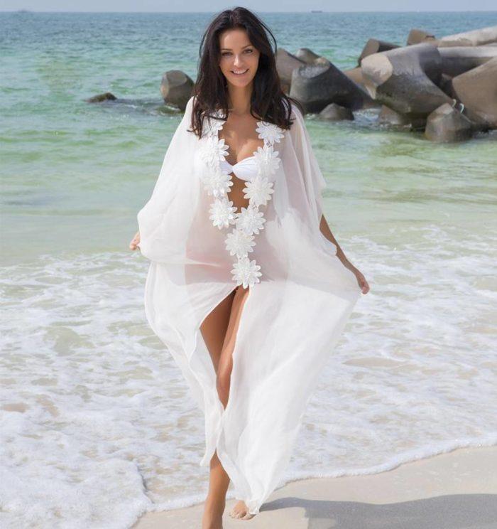 Модное пляжное парео