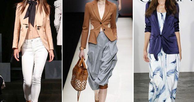 Пиджаки модные в 2021-2022 году: новинки женских жакетов