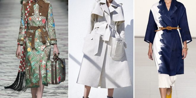 Модные плащи весна-лето 2019: новинки