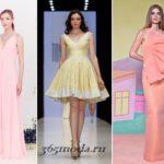 Модные платья на выпускной 2018 новинки 33 фото