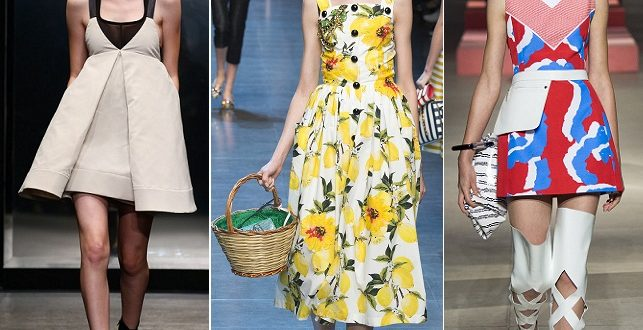 Модные платья весна-лето 2019: новинки, фото