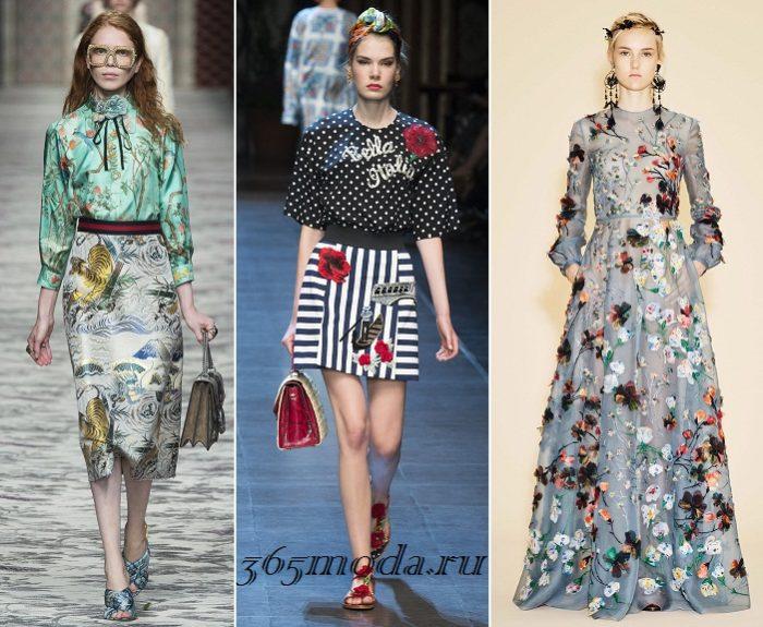 Модные принты весна-лето 2019