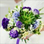 Модные свадебные букеты 2018 новинки