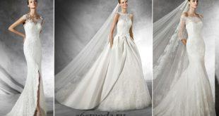365 мода Модные свадебные платья весна-лето 2016 новинки 125 фото