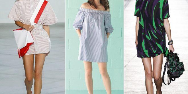 Модные туники весна-лето 2019: новинки